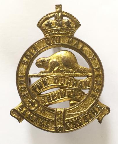 Durham Regt. Canadian cap badge