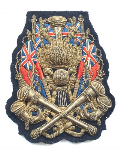Royal Engineers Trumpet Major sleeve badge