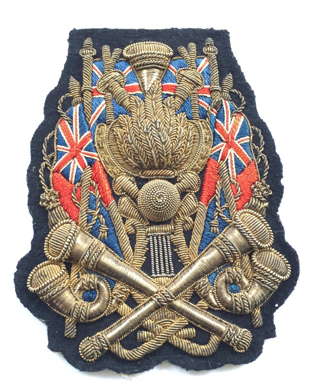 Royal Engineers Trumpet Major sleeve badge