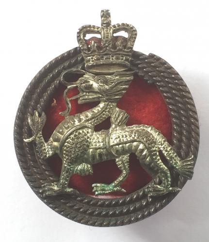 R. Berkshire Regt. Officer's cap badge.