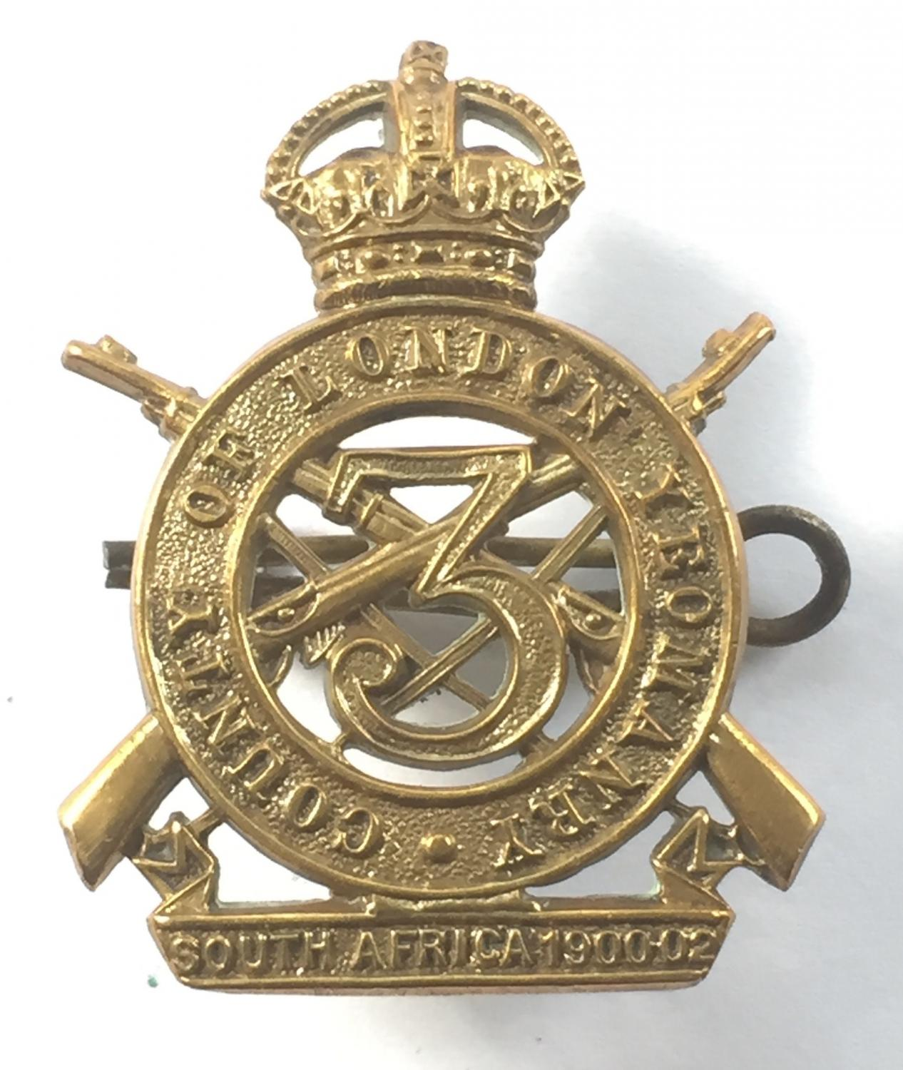 3rd CLY Sharpshooters cap badge