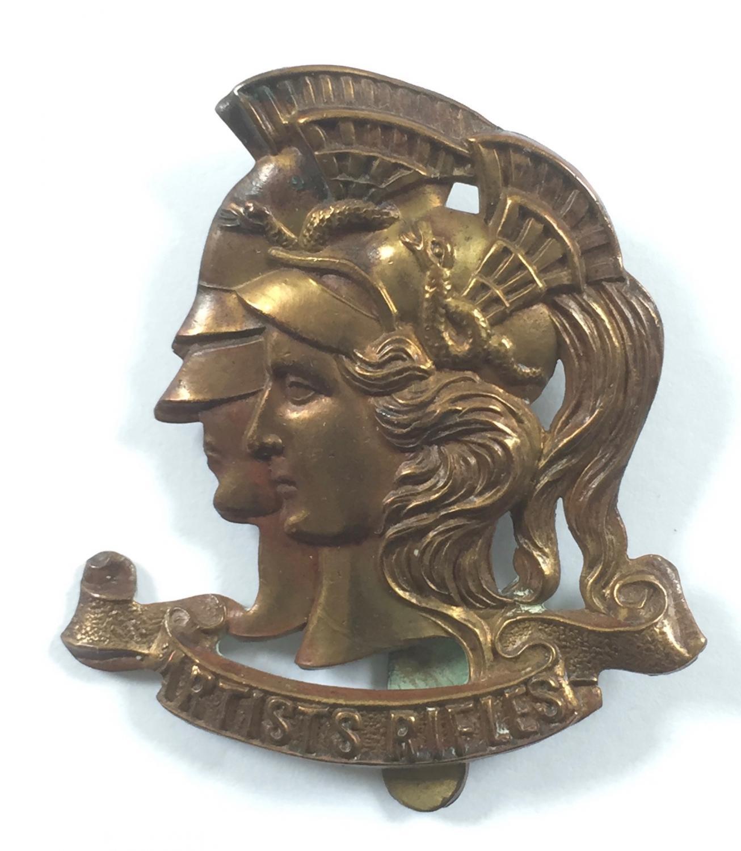 Artists Rifles WW1 issue cap badge