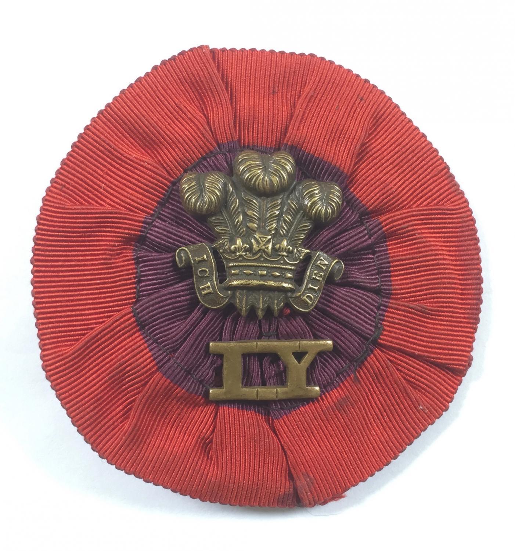 Boer War Imperial Yeomanry slouch hat rosette