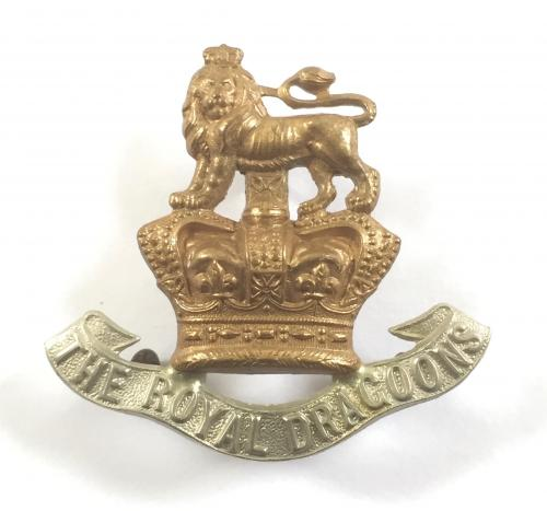 Royal Dragoons Victorian cap badge