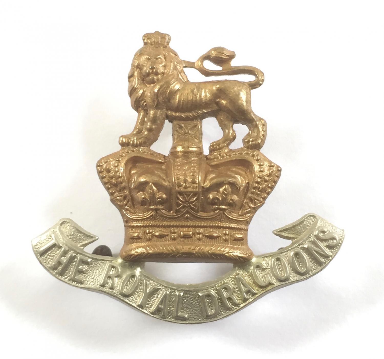 Royal Dragoons Victorian cap badge