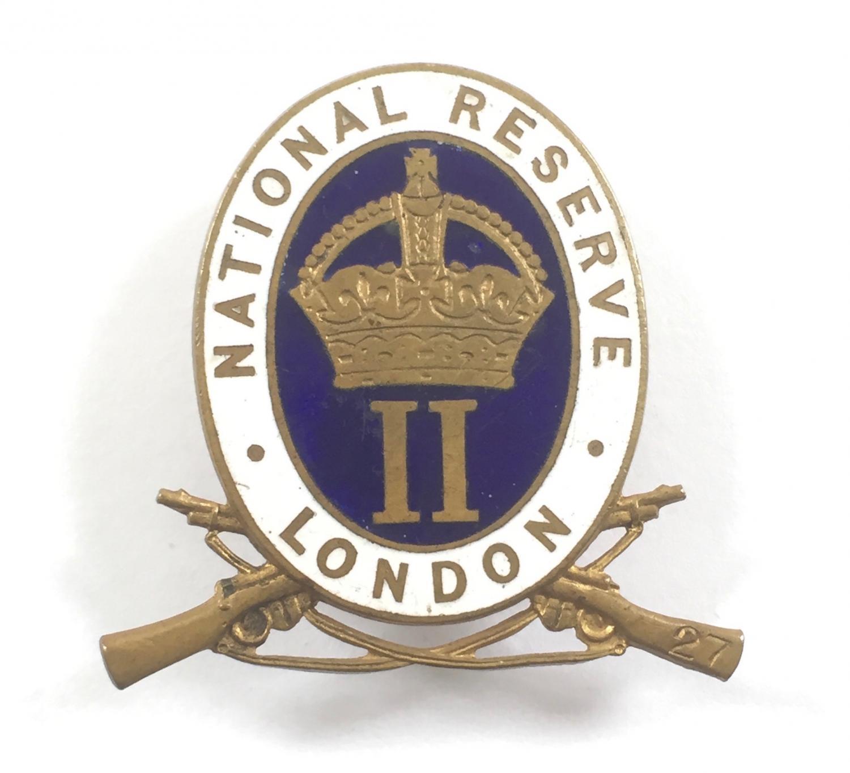 ''Wandsworth'' London National Reserve badge