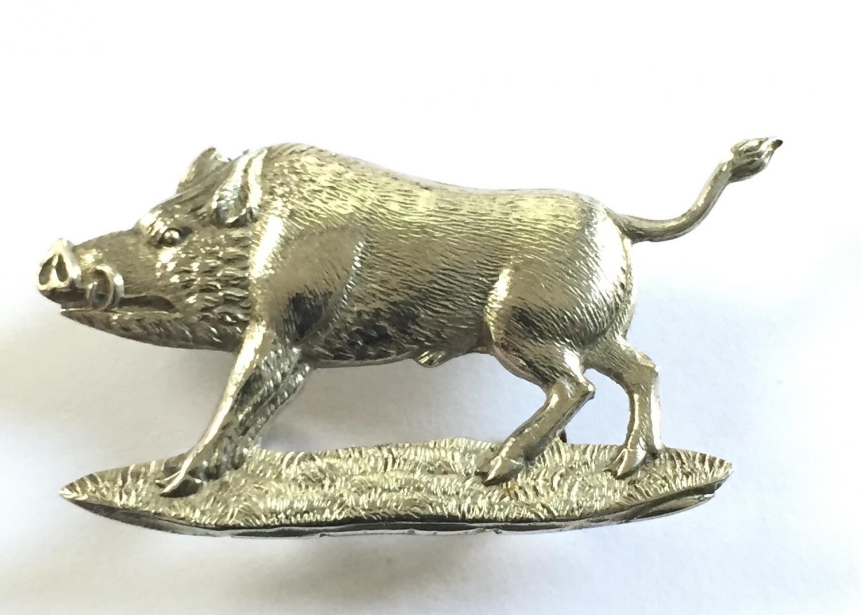 Bihar Light Horse cap badge.