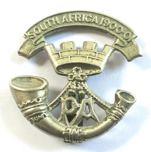 4th & 5th Bns. Somerset LI  cap badge.