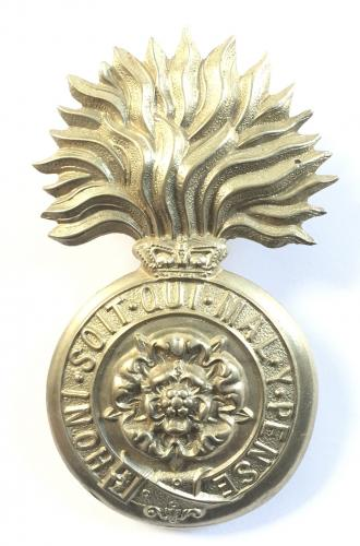 VB R Fusiliers Victorian glengarry badge