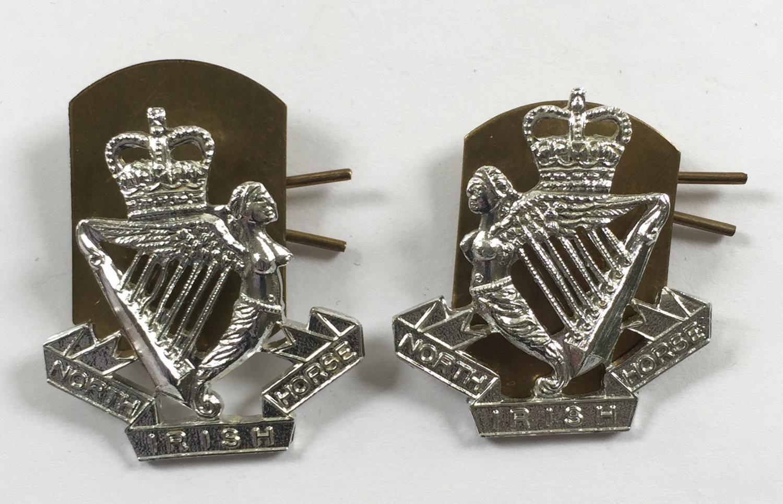 North Irish Horse silver anodised collars