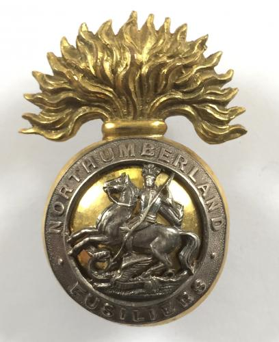 Northumberland Fusiliers Officer cap badge