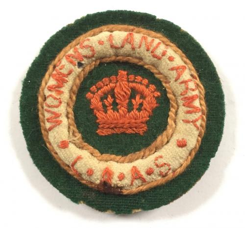 WWI Women's Land Army cloth badge.
