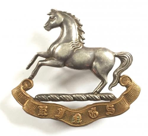 King's Liverpool Regt Officer cap badge