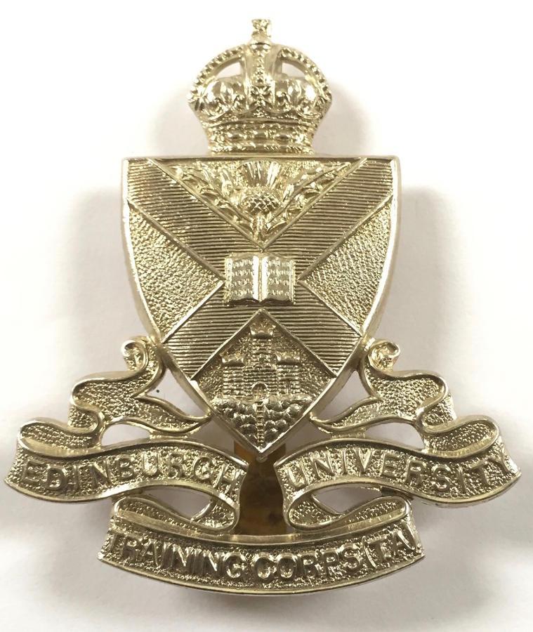Scottish. Edinburgh University Traning Corps (TA) glengarry badge