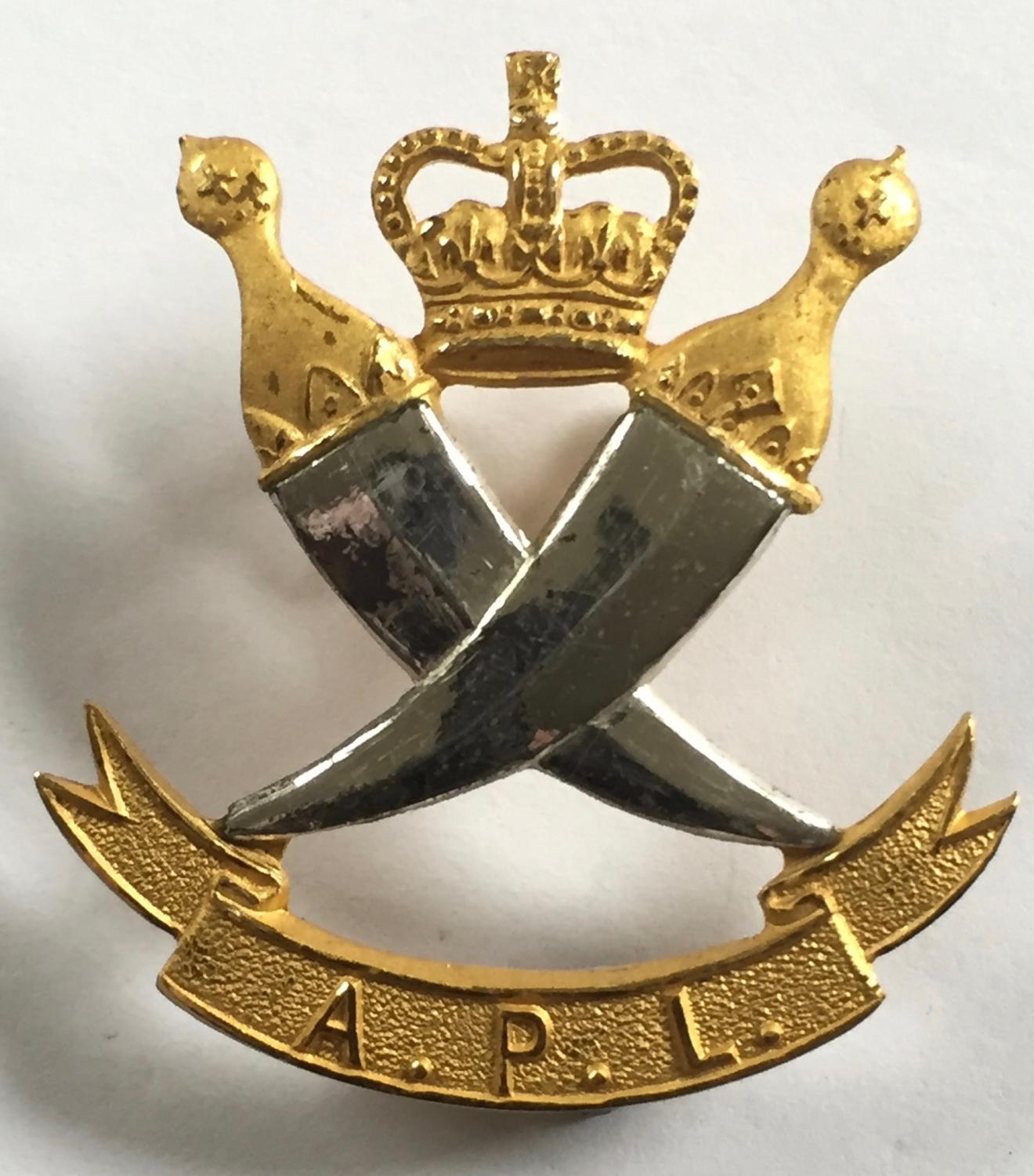 Aden Protectorate Levies Officer's badge