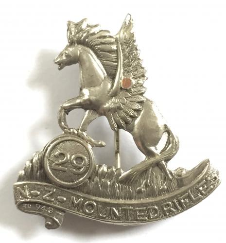 29th Mounted Rifles Remounts hat badge