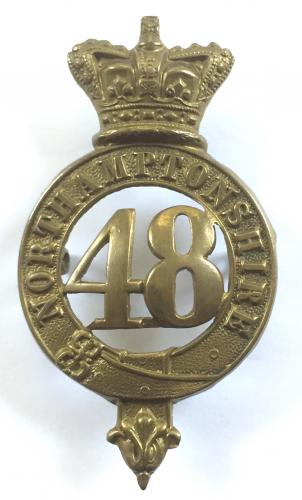 48th (Northampton) Regiment of Foot Victorian glengarry circa 1874-81