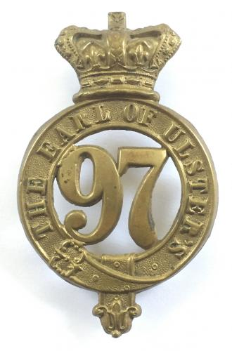 97th (Earl of Ulster's) Foot glengarry badge.