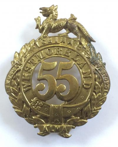55th (Westmoreland) Foot glengarry badge