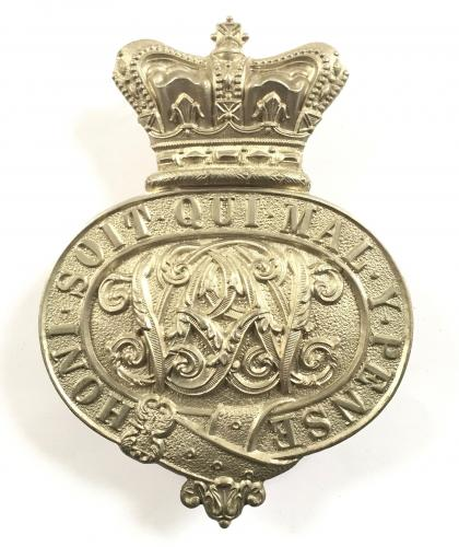 HAC Victorian valise badge
