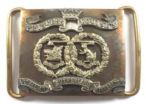 Argyll & Sutherland waist belt plate