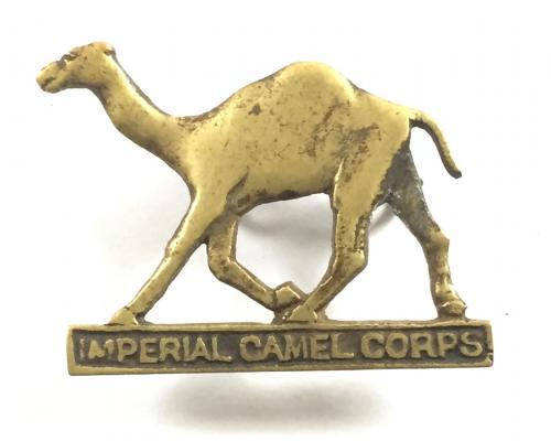 Imperial Camel Corps WW1 cap badge.