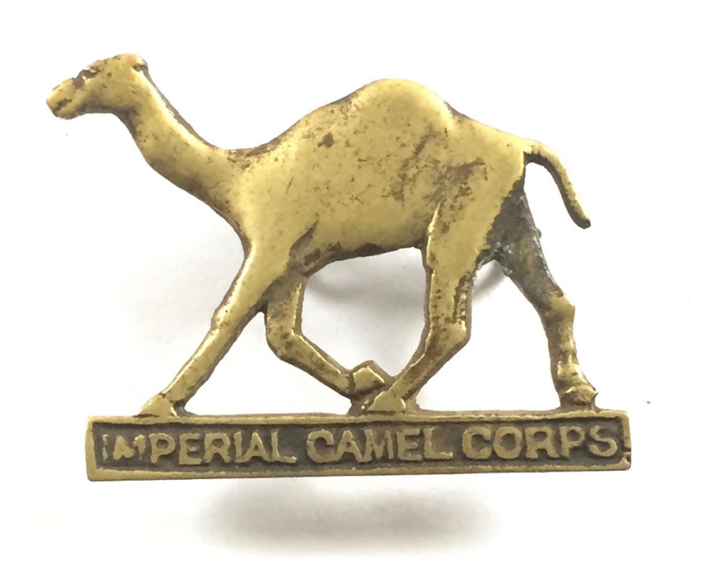 Imperial Camel Corps WW1 cap badge.