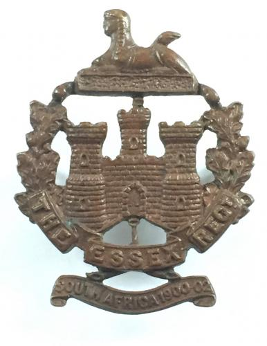 4th, 5th, 6th & 7th Bns. Essex  cap badge.
