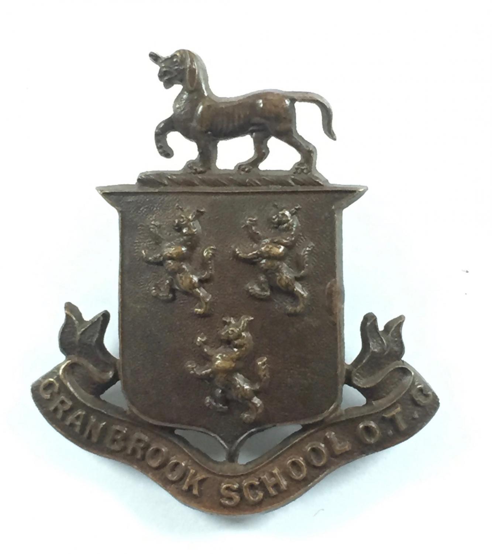 Cranbrook School OTC OSD cap badge