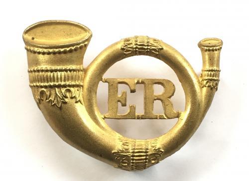 Eastern Rifles brass cap badge C 1902-7