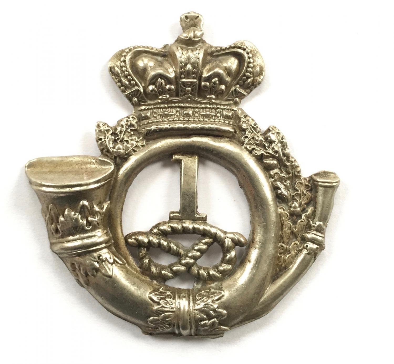 1st Staffordshire Rifle Vols shako badge