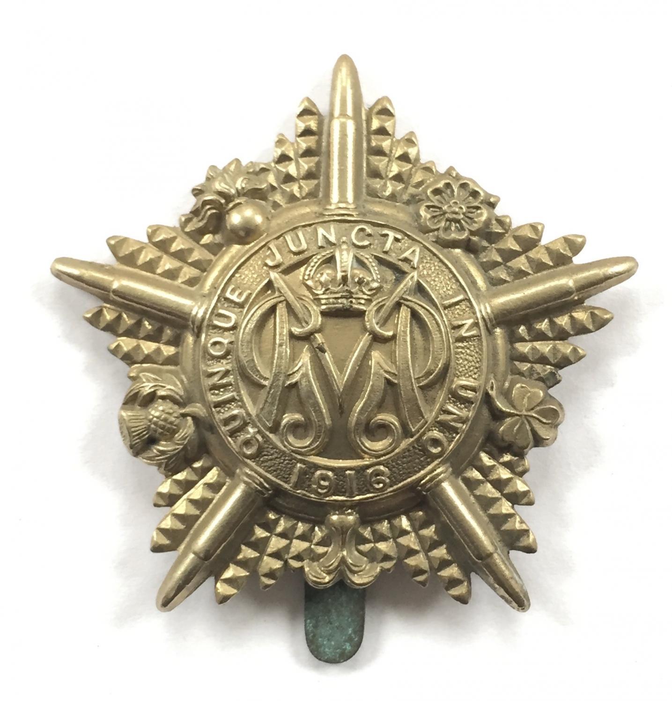 Machine Gun Guards WW1 cap badge