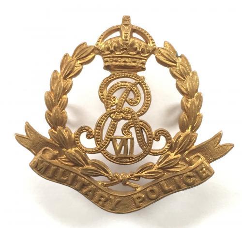 Military Police scarce Edward VII cap badge