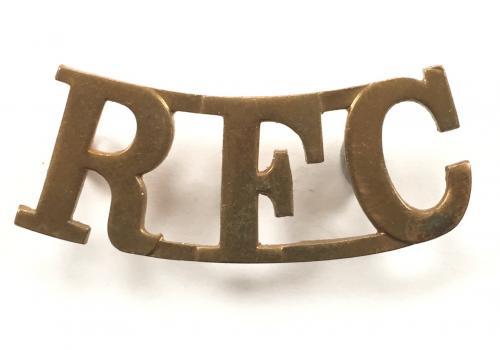 RFC scarce Royal Flying Corps shoulder title