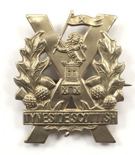 Tyneside Scottish WW1 OR's glengarry badge.