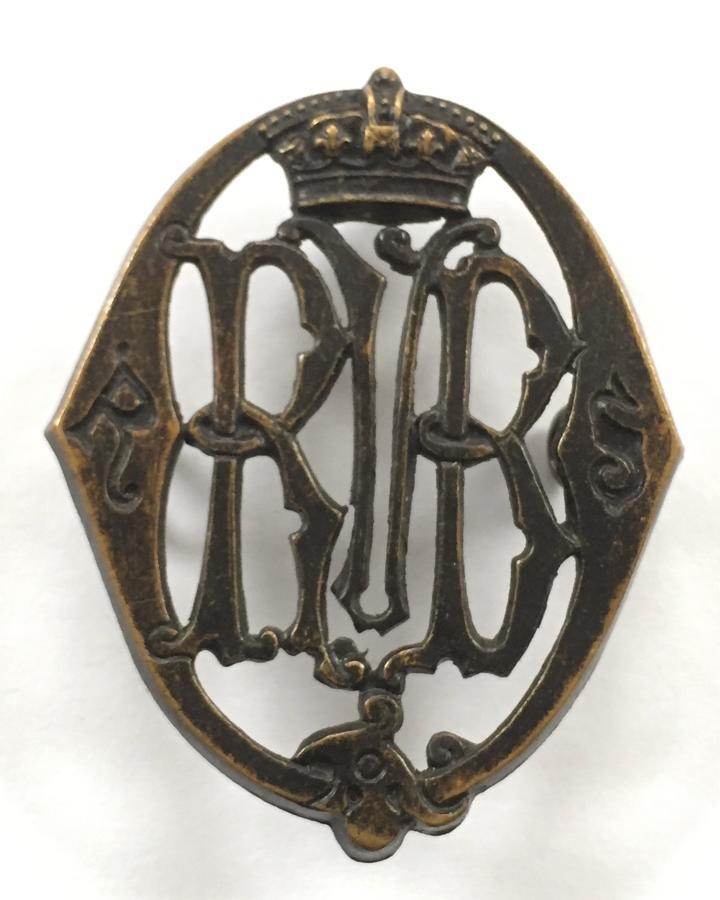 Scottish. Queen's Rifle Volunteer Brigade glengarry badge