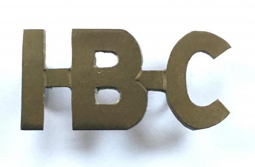 I-B-C Indian Bearer Corps Boer War title