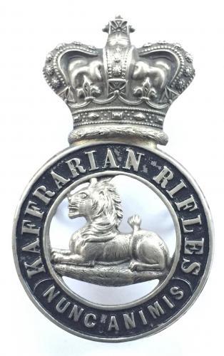 Kaffrarian Rifles Victorian glengarry
