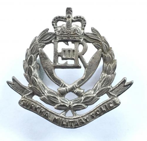 Gurkha Military Police metal cap badge