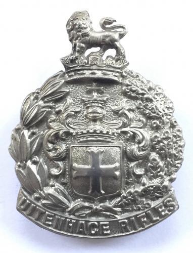 Uitenhage Rifles 1897-1902 slouch hat badge