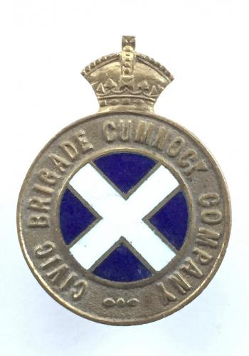 Civic Brigade Cumnock Company badge