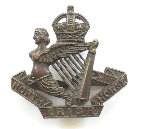 North Irish Horse OSD cap badge