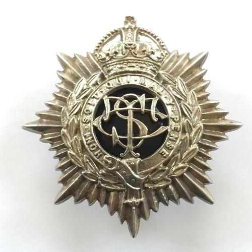 Supply & Transport Corps silver cap badge