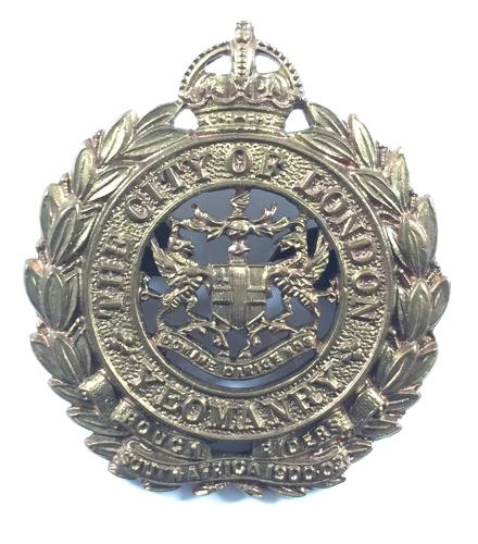 CLY Rough Riders OSD cap badge