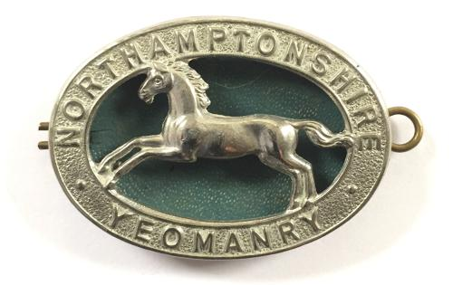 Northamtonshire Yeomanry cap badge