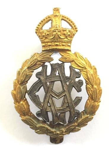 Army Veterinary Corps Officer's cap badge 1906-18.