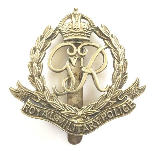 Royal Military Police GVIR WO's cap badge