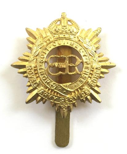 RASC scarce 1936 EdVIII cap badge