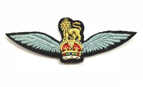 WW2 1st Glider pilot cloth embroidered wing / Army Flying Badge
