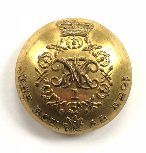 1st (the Royal) Regiment of Foot William IV button